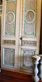 FRENCH CHATEAUX ANTIQUE DOORS, ORIGINAL, 18th CENTURY, FRANCE