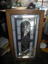 Stained glass panel - we have more of these!