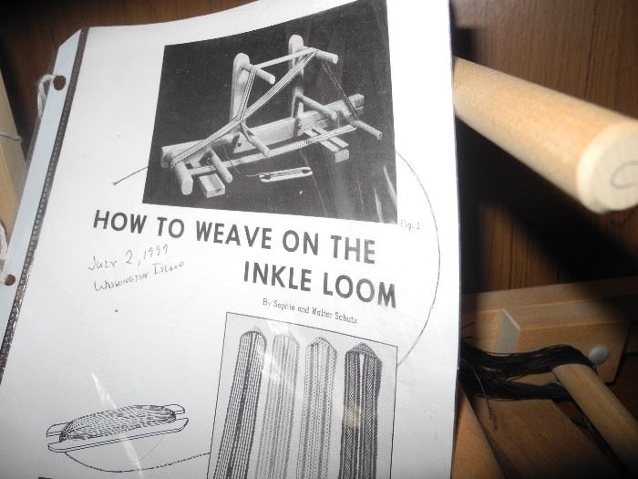 Inkle Loom directions