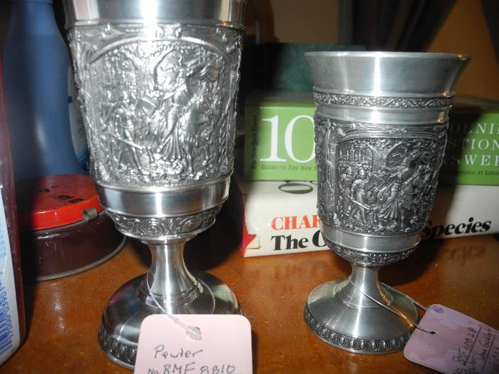 Pewter chalices
