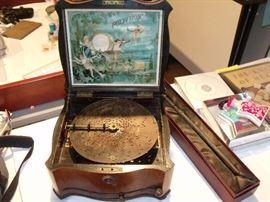 Polyphon music box!