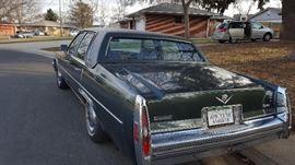 1979 Cadillac DeVille  92kmiles..original owner.