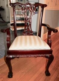 Chippendale Arm Chair (4 of them)
