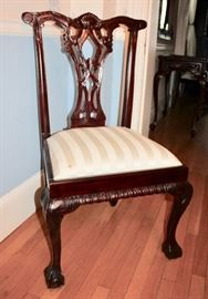 Chippendale side chair (8 of them)