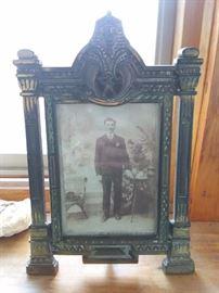 Antique Shriner Lodge Frame