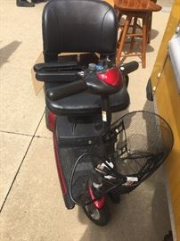 Motorized scooter excellent condition like new