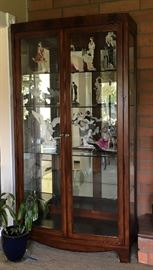 Large, lit display cabinets. Perfect for home or retail displays.