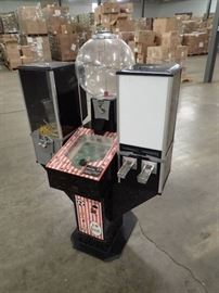 Triple Coin Operated Vending Package