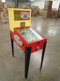 Coin Operated Gumball Vending Game