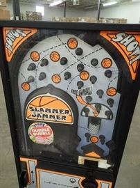 Coin Operated Slammer Jammer Dubble Bubble Game