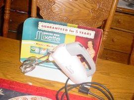 early mixer still has the box