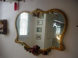 large old mirror