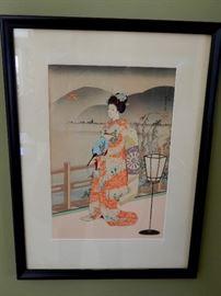 JAPANESE ORIGINAL WATERCOLORS