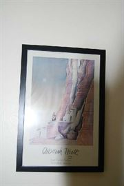 Selection of Framed Prints and Decor