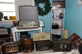 Antique Radios and Typewriters