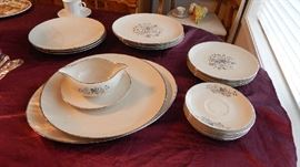 PARTIAL VINTAGE CHINA  SET