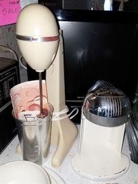 Vintage mixer and juicer