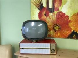 Authentic, refurbished 1950's Philco Predicta TV