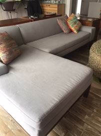 Contemporary sectional from West Elm