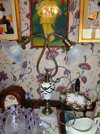 lamp & glass ware