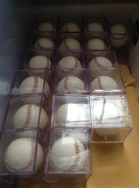 Autographed MLB Baseballs All on Official AL or NL Balls