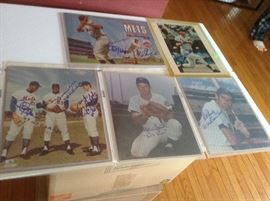 New York Mets Autographed 8X10 Photo's