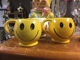 McCoy happy face mugs