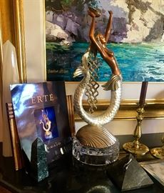 "Erte ""Mermaid"" Bronze"