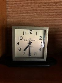 Clock from the Queen Mary out of liverpool