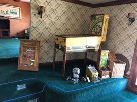 Pinball and slot machines