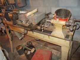 WOOD/METAL LATHE
