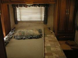 rear bedroom of coachman