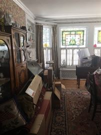 Lots of vintage & antique furniture & collectibles