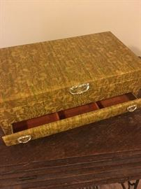 Jewelry box, fabric
