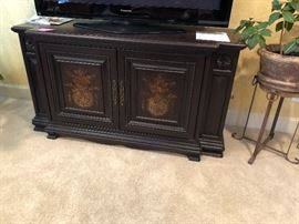 Awesome sideboard/entertainment cabinet for stereo, cable equipment.