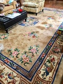 Large Chinese rug