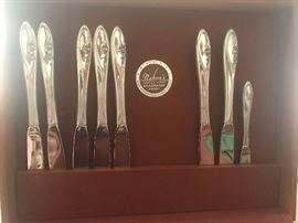 sterling silver handles