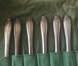 sterling silver handles