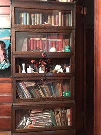Stackable barrister bookcase