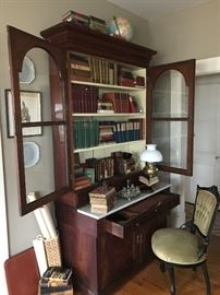 Another family piece this wonderful American Empire Secretary dated 1840 and came from the same home as the sofa from Baltimore Maryland