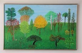 """Helen Rosenberg, """"October Woods"""", 1966"""