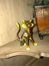 Sally the Cat Nano Lopez original limited edition bronze sculpture