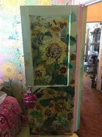 A DOOR?? YES WE HAVE 3 ARTIST INSPIRED DOORS FOR SALE