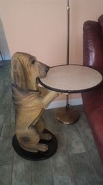 """33"""" Dog Server Table. 2 Available but 1 has a broken ear so you will have to get creative!"""