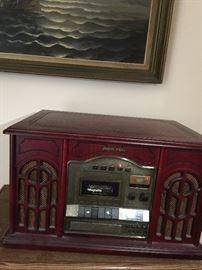 Memorex  Phonograph with AM/FM Radio, Cassette & CD player   Model9215M-1