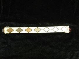 Tri-color gold bracelet