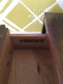 Heritage Campaign chest