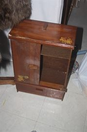 CHILD'S DOLL CABINET