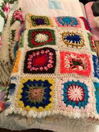 Nice old Quilts and Afghans