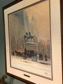 G. Harvey Limited Edition Lithograph